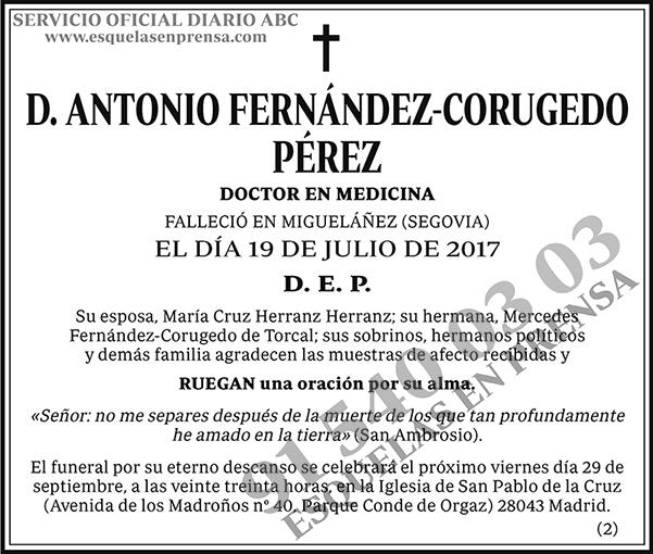 Antonio Fernández-Corugedo Pérez